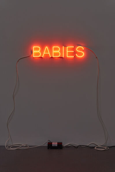 Martin Creed, 'Work No. 279: BABIES', 2002