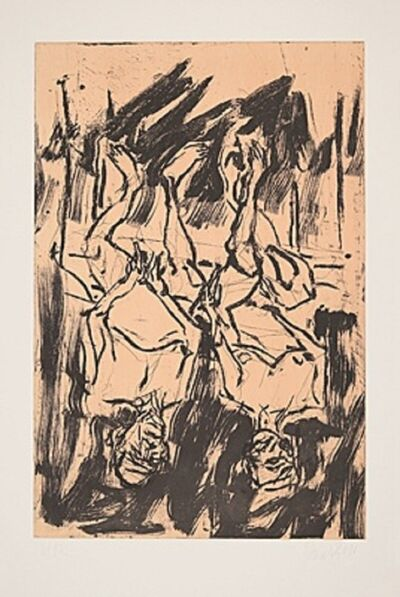 Georg Baselitz, 'Gartenlaube', 2017
