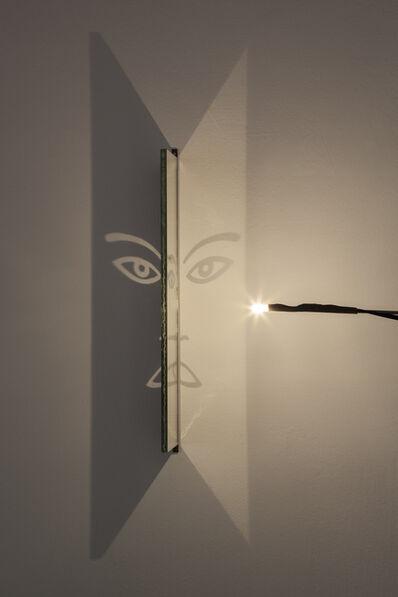 Markus Raetz, 'NIGHT FACE'