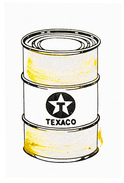 Beejoir, 'OIL CAN (Gold Hand Embellished)', 2010