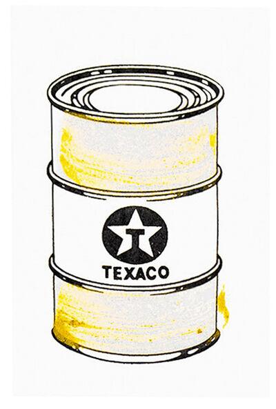 Beejoir, 'OIL CAN (Gold Hand Embellished)', 2010