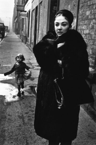 Colin Jones, 'The Royal Ballet, Dancer Elizabeth Anderton in the Gorbals, Glasgow, Scotland ', 1961