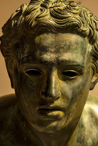 Robert Funk, 'Roman bronze head,  Lost in thought', 2018