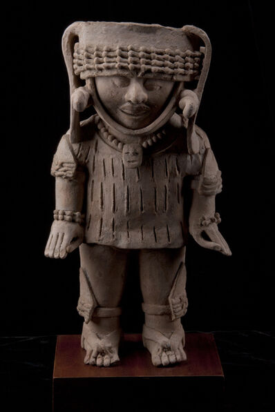Unknown Pre-Columbian, 'Large Veracruz Standing Male Figure', 600-900