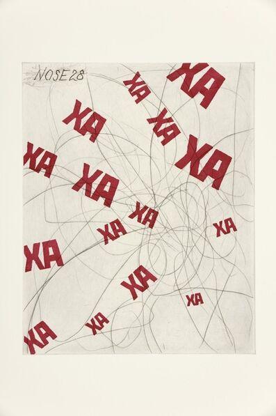 William Kentridge, 'Nose 28', 2009