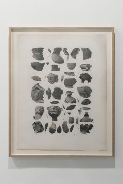 Asier Mendizabal, 'Geodesia y antropometría (vasijas)', 2016