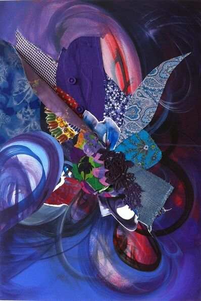Shinique Smith, ' The Purple between Us', 2011