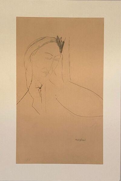 Amedeo Modigliani, 'Portrait de Léopold Zborowski', 1959