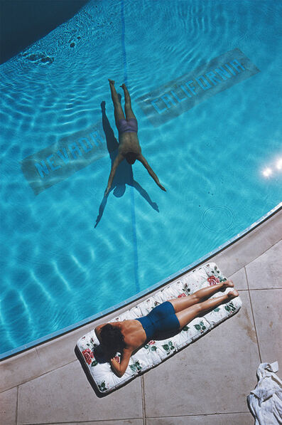 Slim Aarons, 'Swimmer and Sunbather', 1959