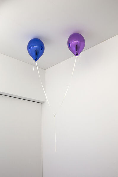 Jeppe Hein, 'Wishes for Two (medium blue and medium purple)', 2017