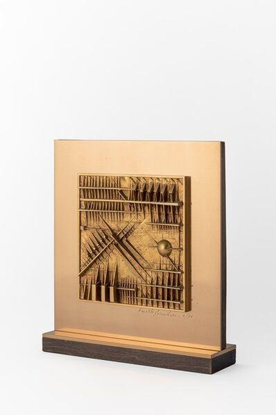 Arnaldo Pomodoro, 'Bassorilievo per Rizzoli-Finarte', 1977