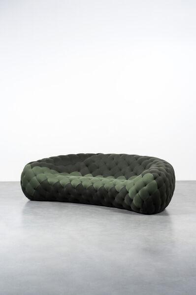 Robert Stadler, 'Royeroid Sofa (Green)', 2010