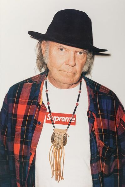 Supreme, 'Neil Young, poster', 2015