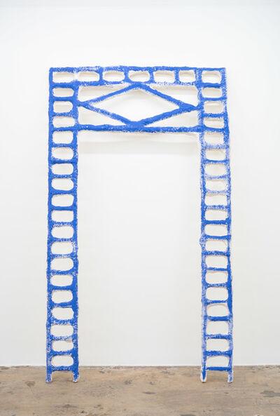 Jamilah Sabur, 'Tilt (blue)', 2019