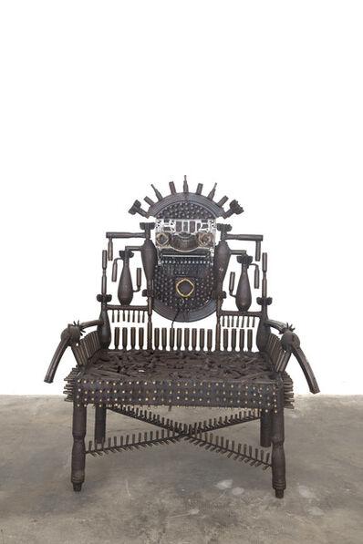 Gonçalo Mabunda, 'Untitled Throne', 2018-19