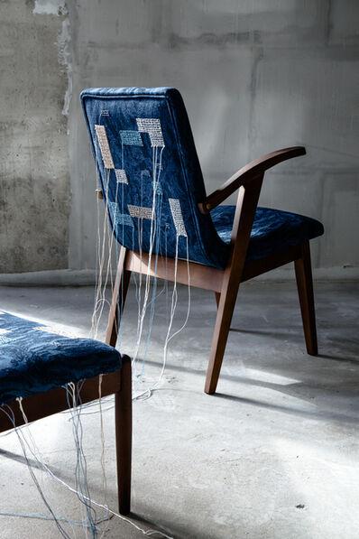 Tatiana Podufalova, 'Kaleidoscope pair: chair and banquet', 2018