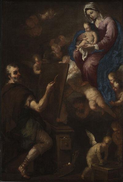 Luca Giordano, 'Saint Luke Painting the Virgin', 1650-1654