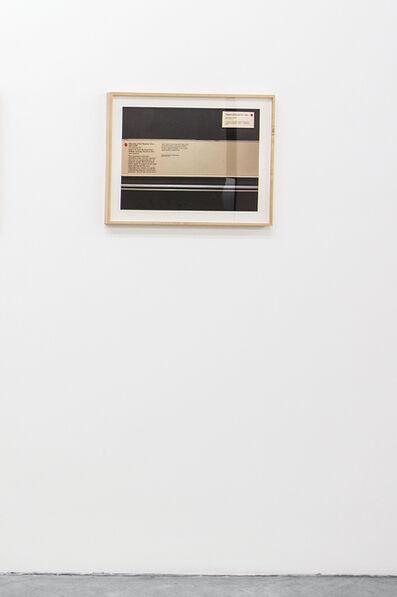 Ignasi Aballí, 'Something is Missing VII', 2016