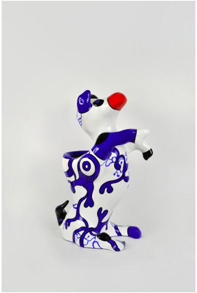 Niki de Saint Phalle, 'Dog vase', 2000