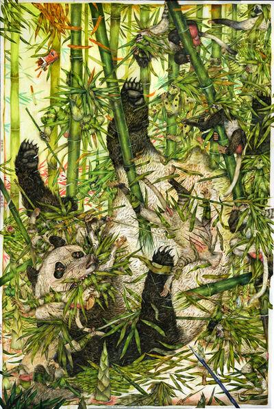 Mu Pan, 'Bamboo Green Green, Panda Big Big', 2017