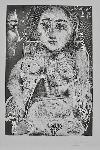 Pablo Picasso, 'Portrait of Jacqueline in the Armchair', 1966
