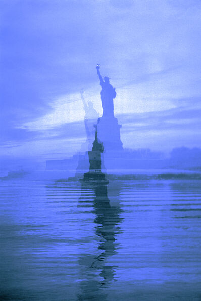 Erik Steffensen, 'Blue Lady Liberty', 2015