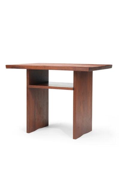 """George Nakashima, 'A George Nakashima """"Portsmouth"""" end table'"""