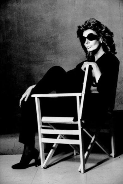 Greg Gorman, 'Sophia Loren (seated), Rome', 1994