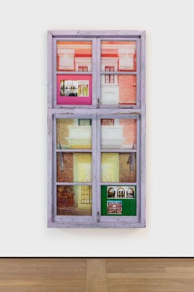Li Qing 李青 (b. 1981), 'Tetris Window · Amber Building', 2019