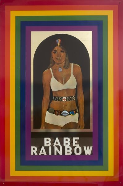 Sir Peter Blake, R.A., 'Babe Rainbow', 1968