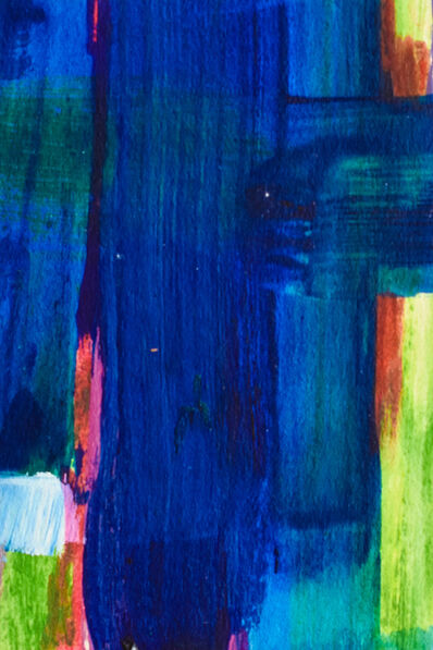 Dusti Bongé, 'Untitled (Blue, Green and Red Abstract)', ca. 1975