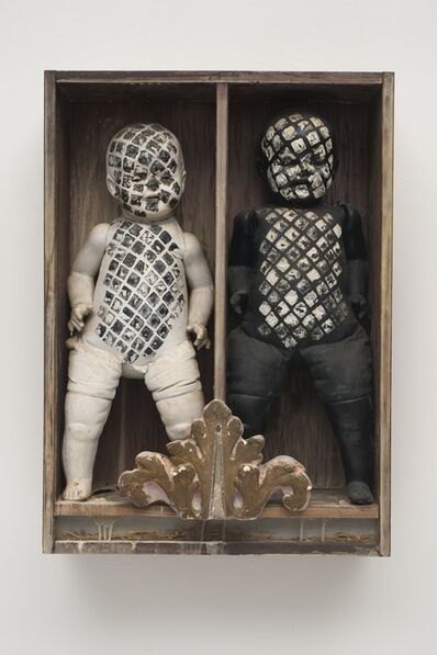 Edward Kienholz, 'It Takes Two to Integrate (Cha Cha Cha)', 1961