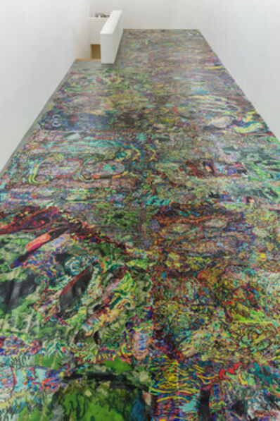 Sam Keogh, 'untitled (floor vinyl)', 2013