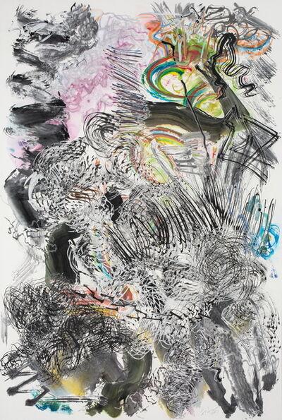 Wu Jian'an 邬建安, '500 Brushstrokes #34 五百笔 #34', 2017