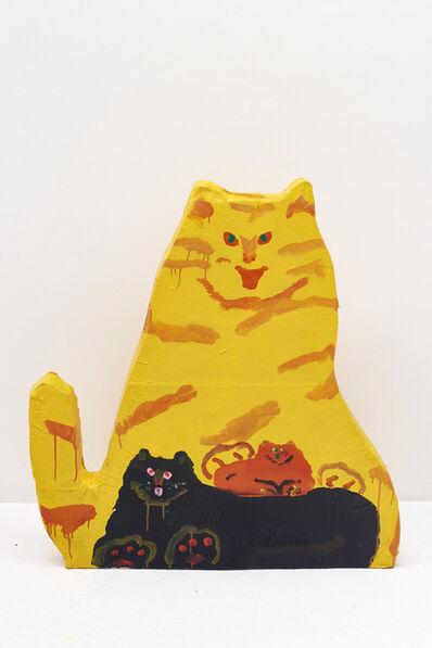 Misaki Kawai, 'Meow Meow Family', 2018