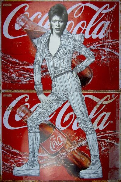 Pakpoom Silaphan, 'Bowie On Coke', 2016