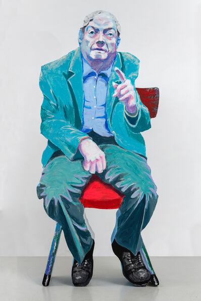 Alexander Dashevskiy, 'With his back to the audience ', 2019