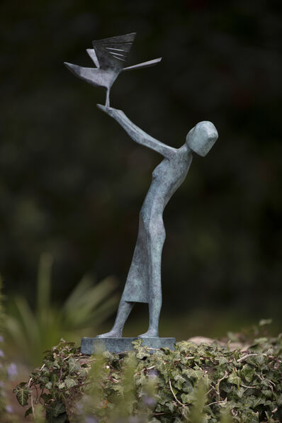 Terence Coventry, 'Woman Releasing Bird', 2014