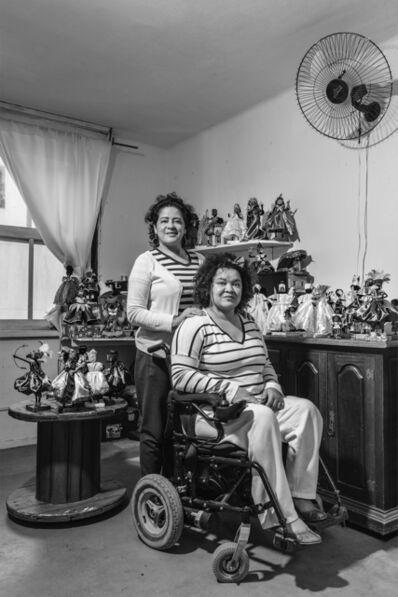 Virginia de Medeiros, 'Maria Luiza dos Santos e Adriana Santos Menezes, Guerrilheiras, from Alma de Bronze series', 2017