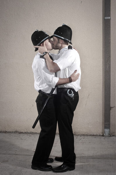 Nick Stern, 'Kissing Policemen '