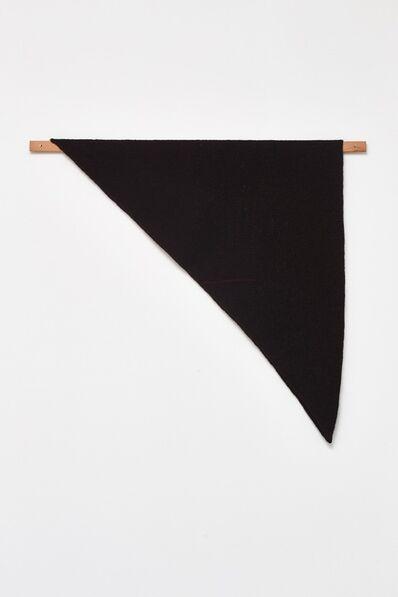 Helen Mirra, 'Waulked Triangle', 2015