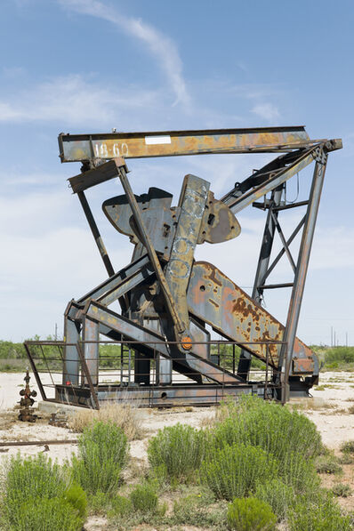 Paul Turounet, 'Oil Pump Jacks: Andrews, Texas', 2016