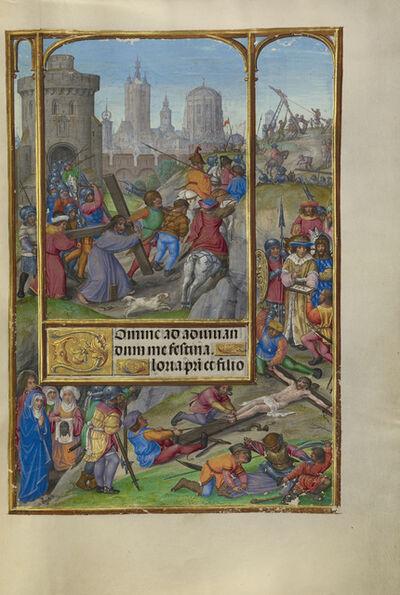 Master of James IV of Scotland, 'The Way to Calvary', 1510-1520