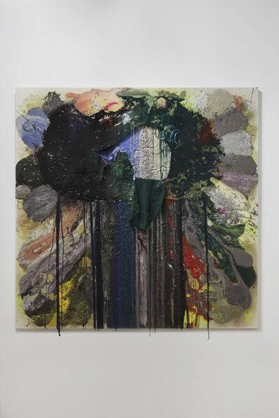 John M. Armleder, 'Fishes weep', 2014