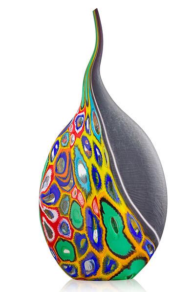Massimiliano Schiavon, 'Large sculptural vessel, Murano, Italy'