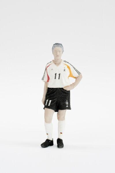Karin Sander, 'Karin Sander 1:7,7 Im Fussball Trikot', 2005