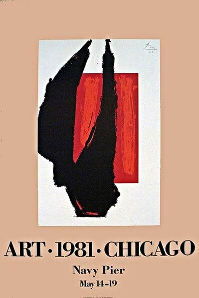 Robert Motherwell, 'Art Chicago ', 1981