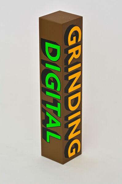 Tim Fishlock, 'GRINDING, DIGITAL, EMBRACE, MACHINE', 2018