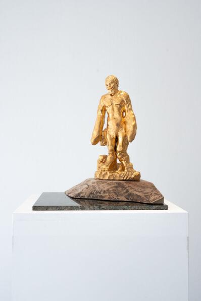 sebastian neeb, 'Zweifinger-John befreit das Gold aus den Fängen des schwarzen Flusses', 2019