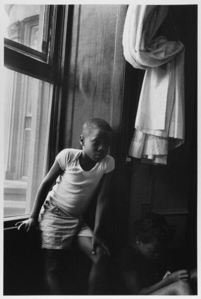Leonard Freed, 'Boy at Window, Sister in shadow, Brooklyn, NY ', 1963